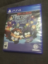 brand new and sealed -The South Park the fractured but whole PS4 for 35$ Ajax, L1T