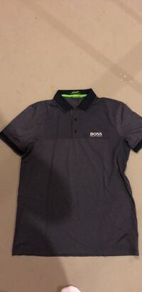 black and gray polo shirt Edmonton, T6T 0Z7