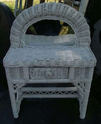 Miniature Doll-size Wicker Vanity  Fort Worth, 76103