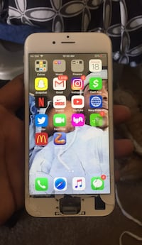 Gray I phone 6s, home button broken but has assistive touch Alexandria, 22303