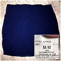 Black mini skirt Winnipeg, R2L 1X5