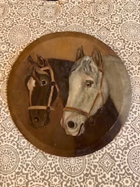 brown and white ceramic decorative plate Barrie, L4N 5H1