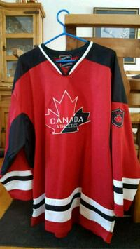 New Canada Athletics Hockey Jersey