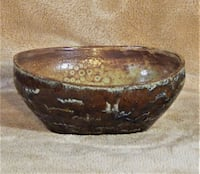 Handmade Pottery Bowl by Sand.