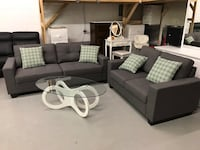 Brand new 3pc grey fabric sofa set warehouse sale, limited quantities  多伦多, M1V 1M7