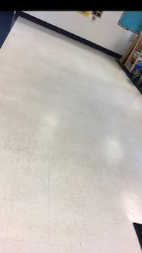 Wax floor like new !!
