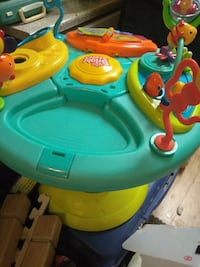 baby's green and blue activity saucer North Las Vegas, 89031