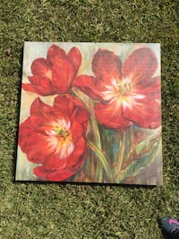 red tulip flowers painting Sumrall, 39482