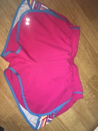 Women's pink and blue under armour shorts Kitchener, N2E 3P1