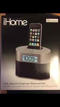 iHome Alarm Clock for iPod and iPhone 4 and lower Mississauga