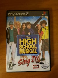 High School Musical - PS2 - PlayStation 2