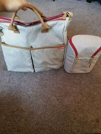 Diaper bag & milk storage bag