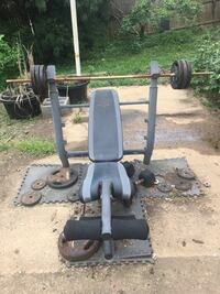 Weight benches and pull up tower 29 km