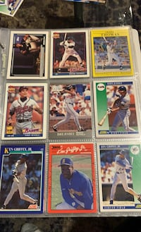 1990-1992 Frank Thomas , David Justice , Ken Griffey Jr baseball cards Syosset, 11791