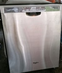 Stainless steel dishwasher on the great condition Toronto, M6M 5G9