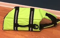 Brand new dog  life vest .size large  Davie, 33324