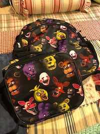 FNAF backpack and lunch box Frederick