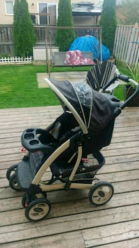 baby's black and gray stroller Barrie, L4N 0A1