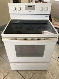 white and black induction range oven Kissimmee, 34747