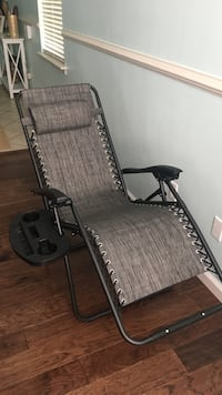 Brand New Zero Gravity Chairs (2 total) with drink holders Virginia Beach, 23455
