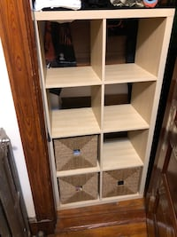 IKEA 2x4 Kallax Shelf Bookcase