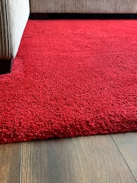 Red area rug Medford, 02155