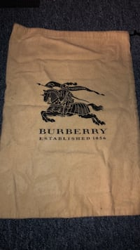 Burberry dust bag Toronto, M9W 3G6
