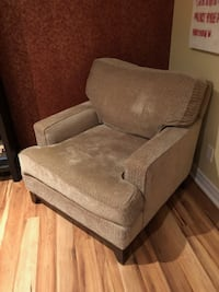 Beige sofa chair GUELPH