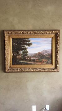 brown wooden framed painting of trees Signal Mountain, 37377