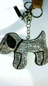 Crystal dog key chain Las Vegas, 89148