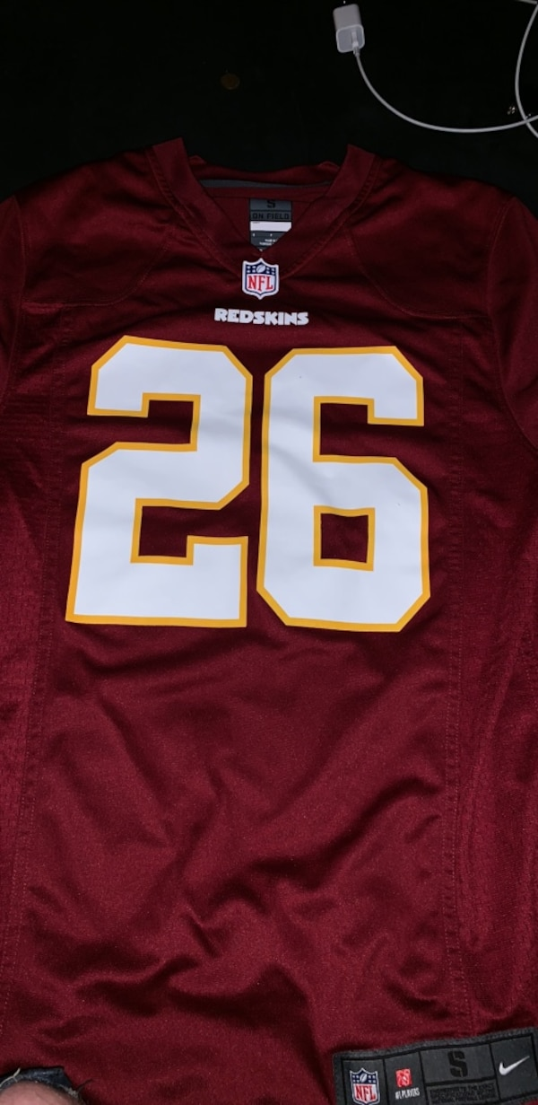 the best attitude 19981 ace42 NFL Redskins Jersey Adrian Peterson Size S Adult