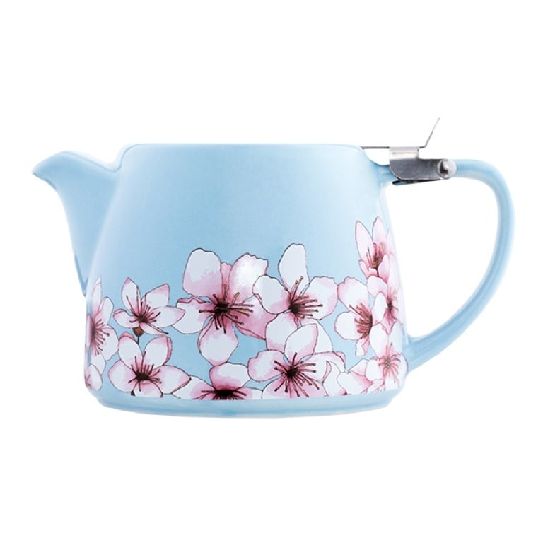 Ceramic and Stainless Steel Alfred Tea Pot