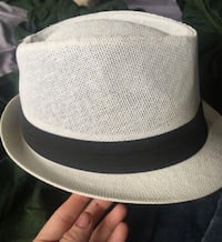 White and black fedora style hat  Lake Forest, 92630