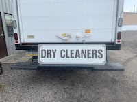 Antique Dry Cleaners Sign