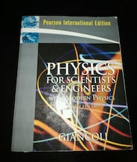 Physics for scientists and engineers Giancoli Kızılay Mahallesi, 06420