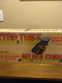 Vintage Stop Thief Boardgame Abbotsford, V2T 6T2