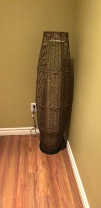 2 Brown wicker lamps Pickering, L1V 1T3
