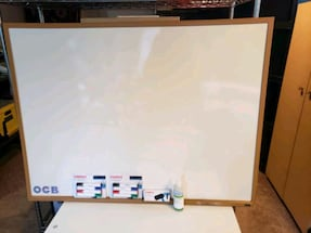 Very large whiteboard