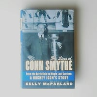 """""""The Lives of Conn Smyth...Hockey Icon's Story"""" (McParland). Brand new Waterloo"""