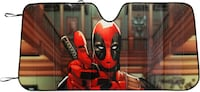 "Marvel Deadpool ""Thumbs Up"" Accordion Front Windshield Sunshade Vienna"