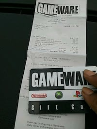 can buy anything out of gameware with gift card Denham Springs