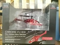 Chrome Flyer micro wireless indoor helicopter Hanover, 17331