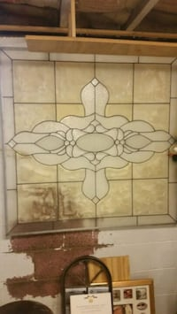 Faux stained glass window North Canton, 44720