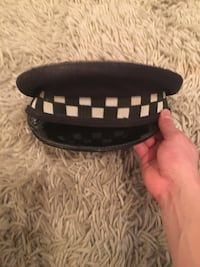 Rare old Authentic Chicago Police hat Chicago, 60602