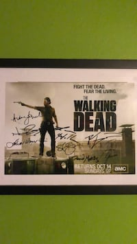 Walking Dead Signed Picture Rolla, 65401
