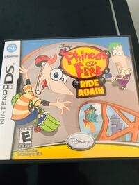 Nintendo Ds Phineas and Ferb ride again 2257 mi