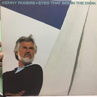 Kenny Rogers - Eyes that see in the dark vinyl Toronto, M4C 1R7