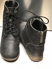 Breckelle's Black leather Booties Sz 8 El Paso, 79936