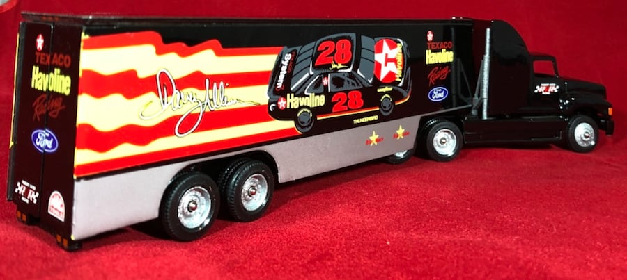 Davey Allison Texaco Havoline 1/64 Winross Hauler Transporter #19. New 225b8a0f-5ecd-43a9-8982-48db1e763775