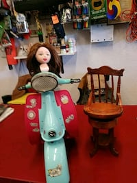 Doll on her Scooter with chair San Leandro, 94578